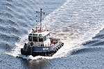 HMS Prince of Wales LB04 Move (20014438423).jpg