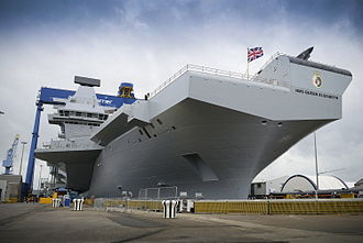 Queen Elizabeth-class aircraft carrier - HMS Queen Elizabeth, July 2014