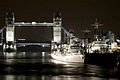 HMS Somerset strengthens her links with London. MOD 45146099.jpg