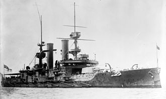 Argentine–Chilean naval arms race - Image: HMS Swiftsure LOC ggbain 16800