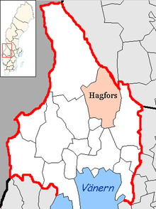 Hagfors Municipality in Värmland County.png