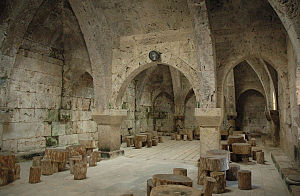 Haghartsin Monastery - Refectory interior