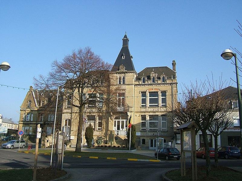 Halanzy former city hall, Aubange, Belgium