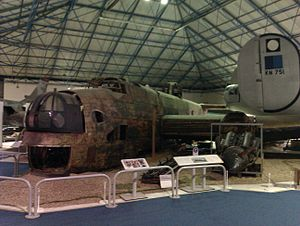 Peter Stanley James - Handley Page Halifax W1048 TL-S