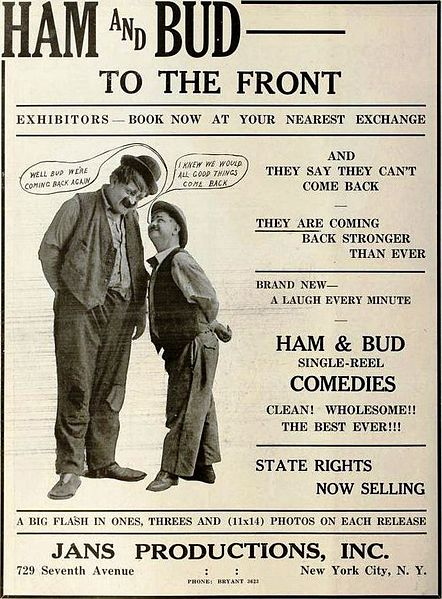 File:Ham and Bud - May 1919 MPW.jpg