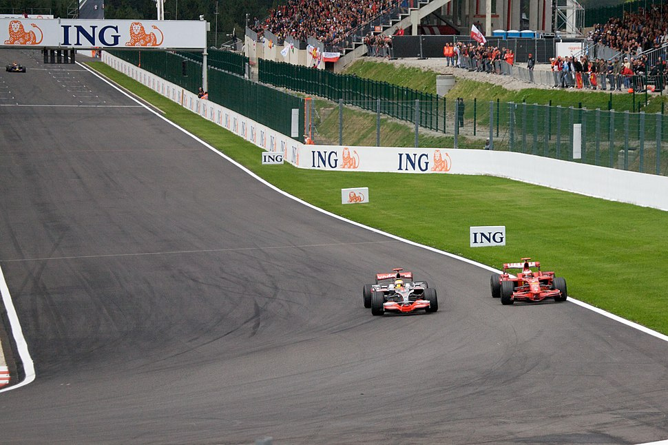 Hamilton %2B Raikkonen 2008 Belgium 2