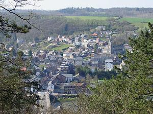 Hamoir - Image: Hamoir From Belvédère De Coïsse