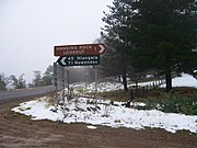 Hangingrock nsw snow 2007