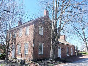 Hanoverton, Ohio - Hanover House (1835) in the Hanoverton Canal Town District