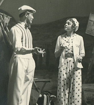 Hans Christian Blech - Blech with Lotte Berger in Twelfth Night