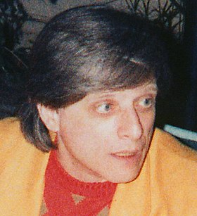 Harlan Ellison at the LA Press Club 19860712 (cropped portrait).jpg