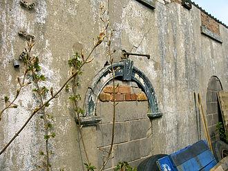 Harriseahead - Hugh Bourne's original Chapel building is now a commercial shed.