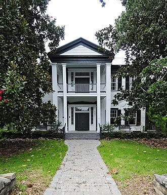 Hartley House (Batesburg-Leesville, South Carolina) - Hartley House, August 2012