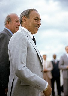 Hassan II of Morocco King of Morocco from 1961 until his death in 1999