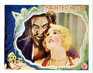 The Haunted House (1928 film) - Lobby card