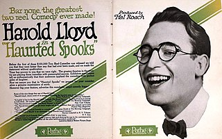 <i>Haunted Spooks</i> 1920 film by Hal Roach, Alfred J. Goulding