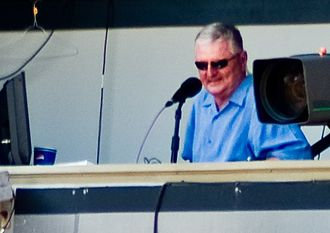 Ken Harrelson - Harrelson in the broadcast booth in 2007
