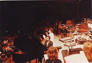 Hayedeh - Hayedeh in a concert at Royal Albert Hall, London, 1987