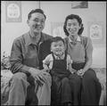 Heart Mountain Relocation Center, Heart Mountain, Wyoming. Bill Hosokawa, Editor of the Sentinel, H . . . - NARA - 539224.tif