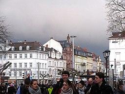 Bismarckplatz in Heidelberg