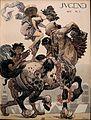 Heinrich Kley - Jugend - Front page 1910 volume 5.jpg