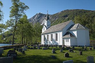 Helgheim Church - Image: Helgheim church 01
