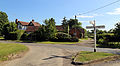 Hellmans Cross, Great Canfield, Essex, England - road junction from NE.JPG