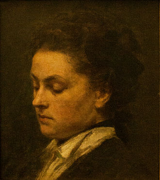 Victoria Dubourg - Portrait of Victoria by her husband