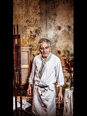 Henry Goodman - Henry Goodman as Lucian Freud in Looking at Lucian