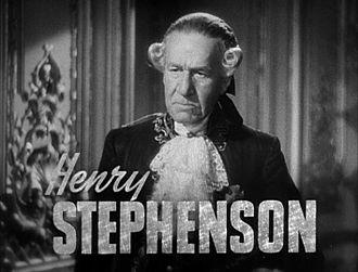 Henry Stephenson - Henry Stephenson in Marie Antoinette (1938)