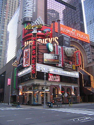 The Hershey Company - The Hershey's Chocolate World store in Times Square, New York City (2008)