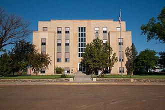 Hettinger County, North Dakota - Image: Hettinger County Courthouse