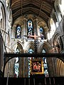 Hexham Abbey - east window - geograph.org.uk - 1583776.jpg