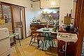 Hibarigaoka Housing Complex kitchen, model of 1962 AD period 2DK-type unit, scale 1 to 1 - Edo-Tokyo Museum - Sumida, Tokyo, Japan - DSC06975.jpg