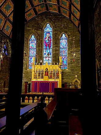Anglo-Catholicism - High Altar, Anglo-Catholic Church of the Good Shepherd (Rosemont, Pennsylvania)
