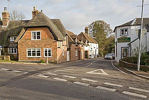 West Meon - Image: High Street, West Meon geograph.org.uk 619938