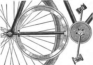 0117c1fda4f A chainless bicycle is a bicycle that transmits power to the driven wheel  through a mechanism other than a metal chain.