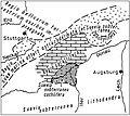 Historische, geologische Karte der Ostalb vor 250 J.jpg