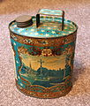 Holy water tin from Lourdes, foto 1.JPG