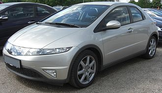 Honda Civic (eighth generation) - European version