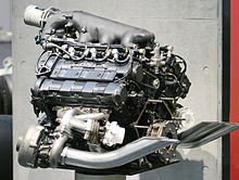 A 1988 Honda Ra168e Turbocharged V6 Engine