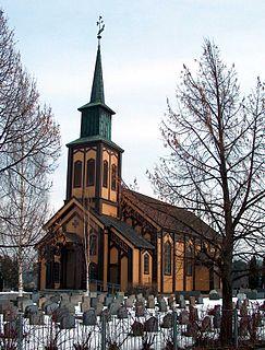 Hønefoss Church Church in Hønefoss, Viken