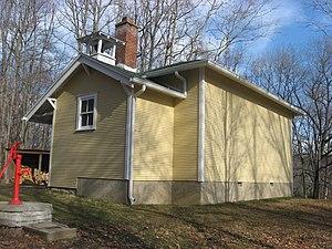 Benton Township, Monroe County, Indiana - Honey Creek School, a historic site in the township