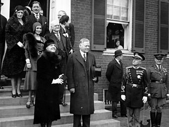 Inauguration of Herbert C. Hoover