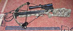 Modern compound crossbow
