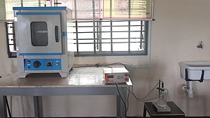 Hot air oven - Hot air oven
