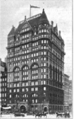 Hotel New Netherland - Hotel Netherland (ca. 1911)