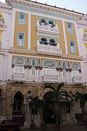 Hotel Sevilla - Original 1908 wing of Hotel Sevilla