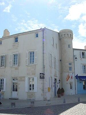 Jean Caylar d'Anduze de Saint-Bonnet - Hotel de Toiras in Saint-Martin-de-Ré.