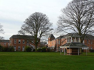Saxondale Hospital Mental hospital near Nottingham